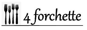 4 forchette